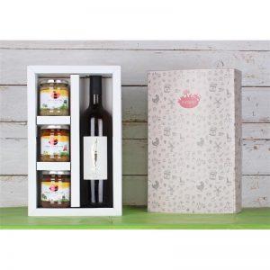 מארז יין וממרחים לראש השנה