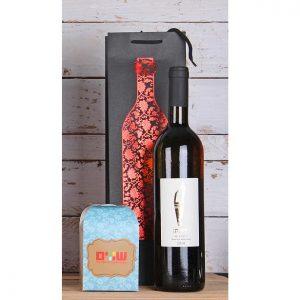 יין ומארז שוקולד שווים  או פקק ואקום ליין