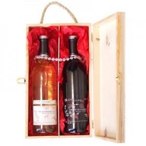 מארז יין זוגי מהודר