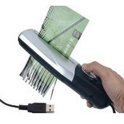 שרדר- מגרסה אישית USB