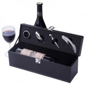 יין בתיבה מהודרת מעור ואביזרים