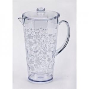 לימונד-סט מעוצב של קנקן עם 4 כוסות. אריזת מתנה