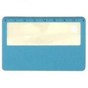 ביגר- זכוכית מגדלת בצורת כרטיס אשראי