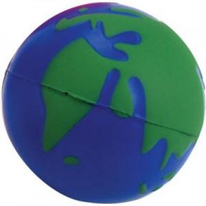 עולם - כדור גומי לחיץ בצורת כדור הארץ