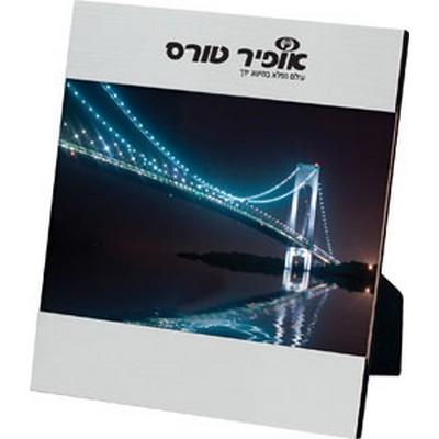 ניס - מסגרת לתמונה ממתכת וזכוכית