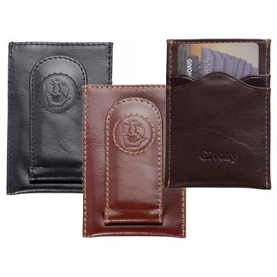 """ארנק עור """"גבעוני"""" Givony מגנט לשטרות וכרטיסי אשראי"""