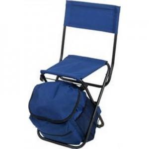 """אנציו - כסא מתקפל, תיק גב, בד קורדורה, עד 100 ק""""ג"""