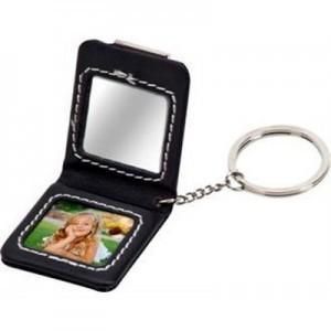 נוי - מחזיק מפתחות עם מראה, מקום לתמונה, סגירה מגנטית