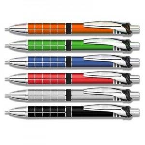 אלוורה -עט ג'ל מעוצב עשוי מתכת