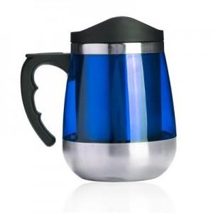 """טמפרטורה  - כוס טרמית בשילוב נירוסטה 450 מ""""ל"""