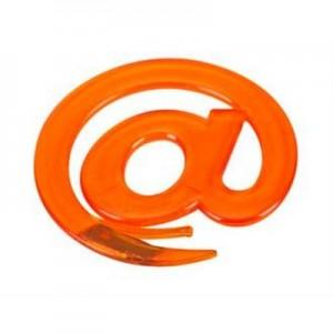 מקור פרוסטי - סכין לפתיחת מכתבים בצורת @