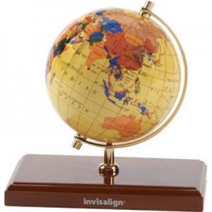 "EARTH - גלובוס בקוטר 10.60ס""מ, בסיס עץ"