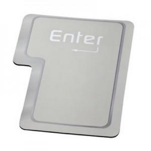 אנטר - משטח גומי לעכבר מחשב בצורת מקש ENTER