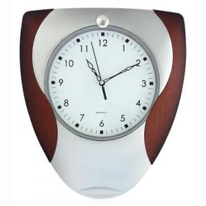 """פיגאל - שעון קיר פלסטיק 26x31 ס""""מ"""