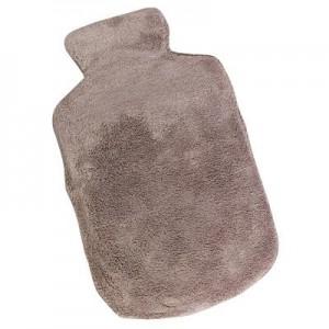 בקבוק מים חמים עם כרית ג'ל לחימום