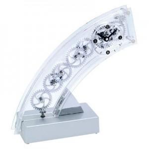 """ARC  """"ארק""""  שעון גלגלי שיניים אקרילי, גובה 19 ס""""מ"""