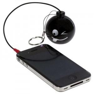 מיני רמקול Mini Bomb  לנגנים וטלפונים סלולריים