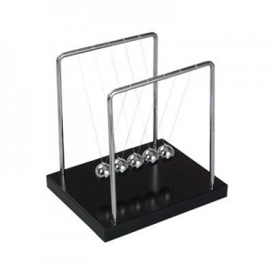"""ניוטון - משחק כדורים שולחני קטן , 13x11 ס""""מ"""