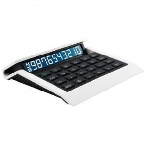 """מחשב שולחני """"ניאון"""" ספרות לבנות  16x15 ס""""מ"""
