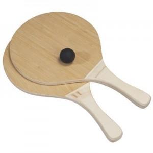 טיק-טוק סט מטקות מקצועיות חלולות, עץ איכותי + כדור