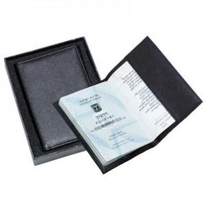 כיסוי לדרכון במארז מתנה