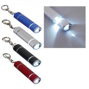 פלאש לייטר מחזיק מפתחות אלומניום נשלף עם תאורת לד חזקה