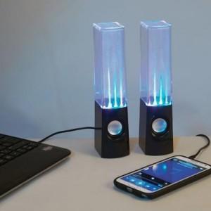 רמקול מים עם אורגן אורות למחשב וטלפונים סלולריים