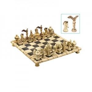 """שחמט מהודר מיתולוגיה יוונית  27x27 ס""""מ"""