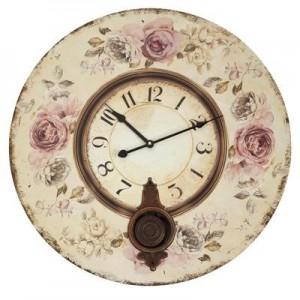 """שעון קיר מטוטלת ענק בעיצובים שונים קוטר 60 ס""""מ"""