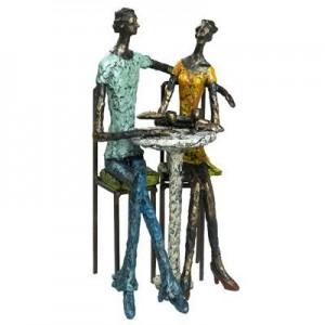 קפה פריז- פסל אומנותי