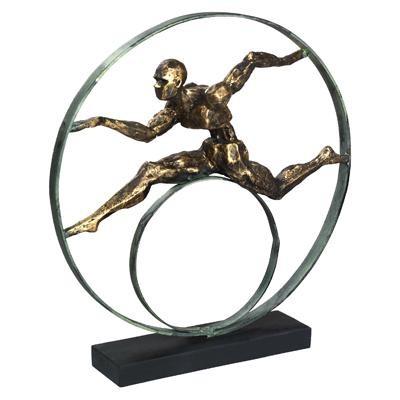 המירוץ לנצחון- פסל אומנותי