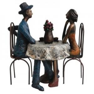 קפה מילאנו- פסל אומנותי