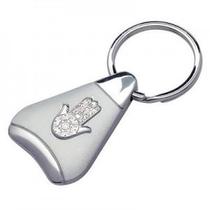 חמסה משולש  מחזיק מפתחות מתכת