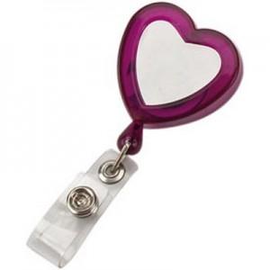 LOVE - מחזיק לתג עובד,לב