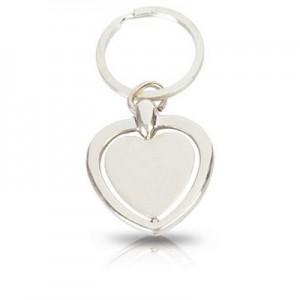 לב - מחזיק מפתחות מתכתי קינטי