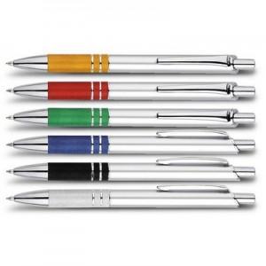 אלה-עט כדורי עם שילובי מתכת