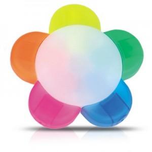 ונוס-סט 4 מדגשים בצורת פרח