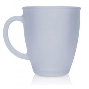 """ונילה - ספל עשוי זכוכית חלבית 330 מ""""ל"""