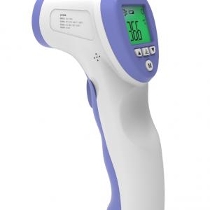 מד חום טרמומטר דיגטאלי ללא מגע יד – בצורת אקדח. מודד חום גוף דיגיטלי.